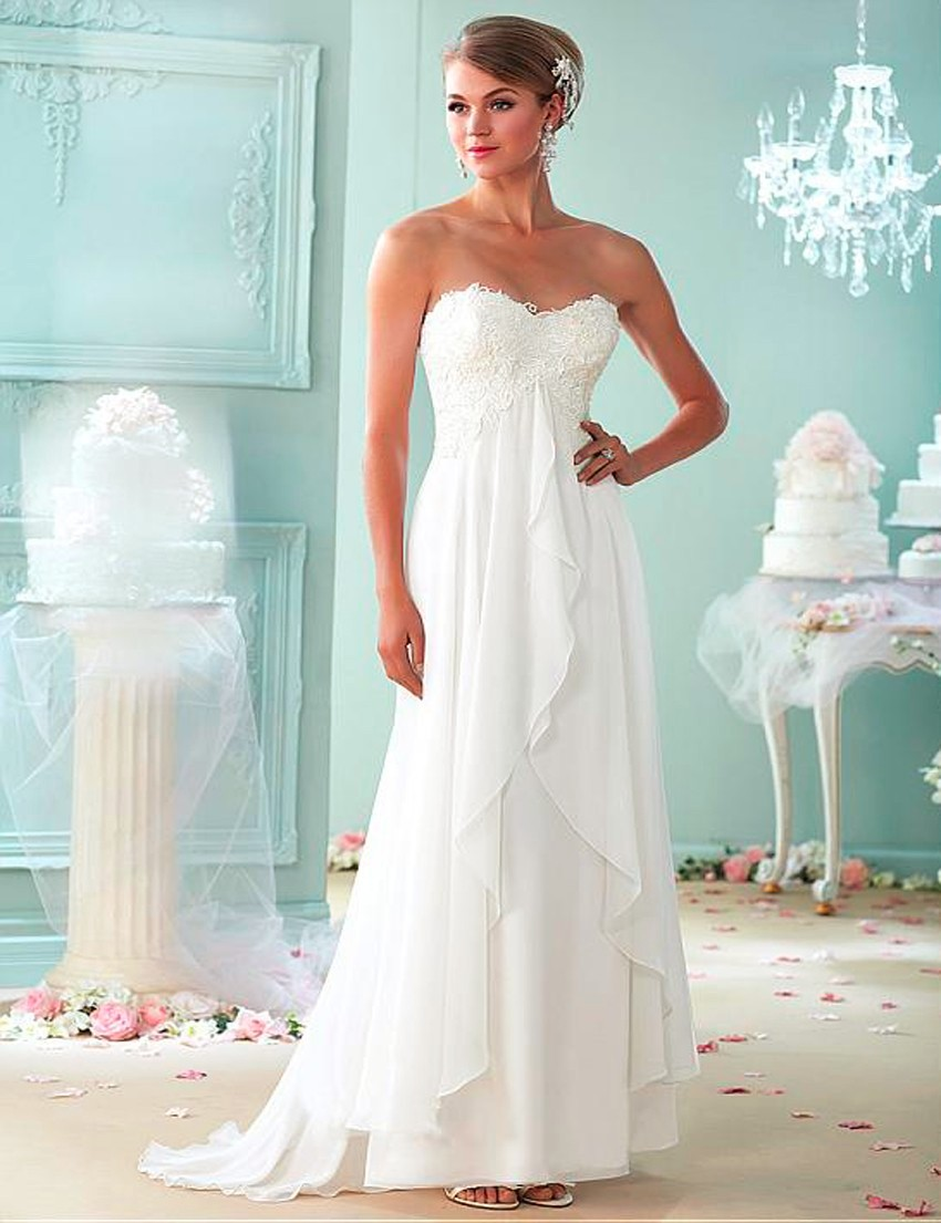 Beautiful Wedding Dresses Pregnant Pictures - Womens Dresses & Gowns ...