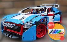 20077 1085Pcs Technical Series The Rally Car Set Compatible with 42077 Building Blocks Bricks Educational gifts lepin
