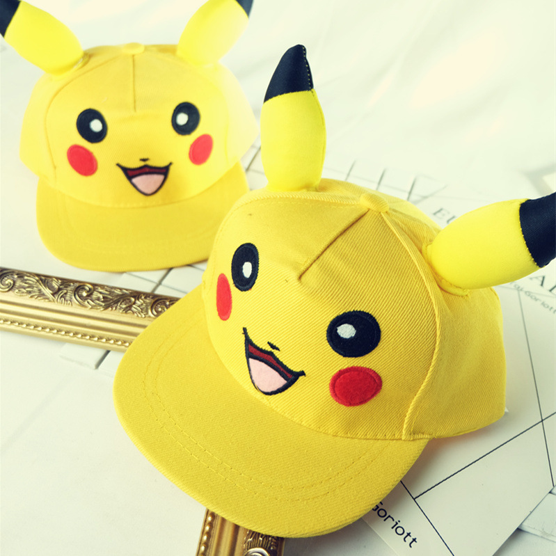 New Cartoon Hat  Full Printed Adjustable Mesh Cap Cosplay Costume Unisex