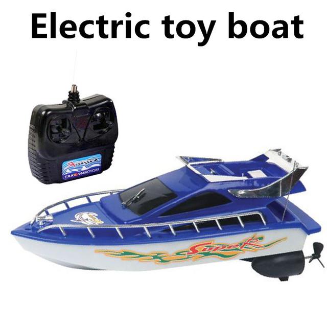 Barcos de juguete eléctrico, barcos de control remoto, barco de control remoto de 4 canales, modelo de simulación de vela, envío gratis