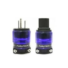 цена на FURUTECH Power plug Rhodium MATIHUR hi end  FI-11M-N1 + FI-11-N1 (R) AC US IEC 15A/125V/