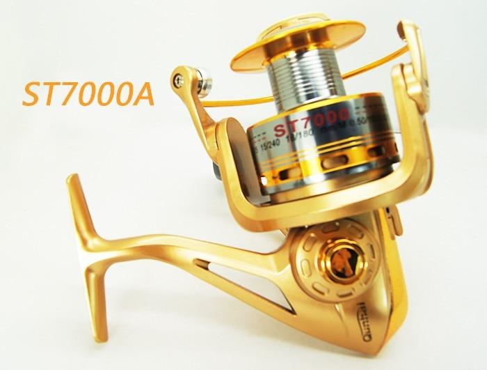 Carrete de Spinning 8BB 5.1: 1 ST7000 de alta calidad para carrete de - Pescando
