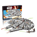 Bela 10467 Star Wars Millennium Falcon building bricks blocks Toys for children Game Weapon Compatible with Lepin 05007 75105