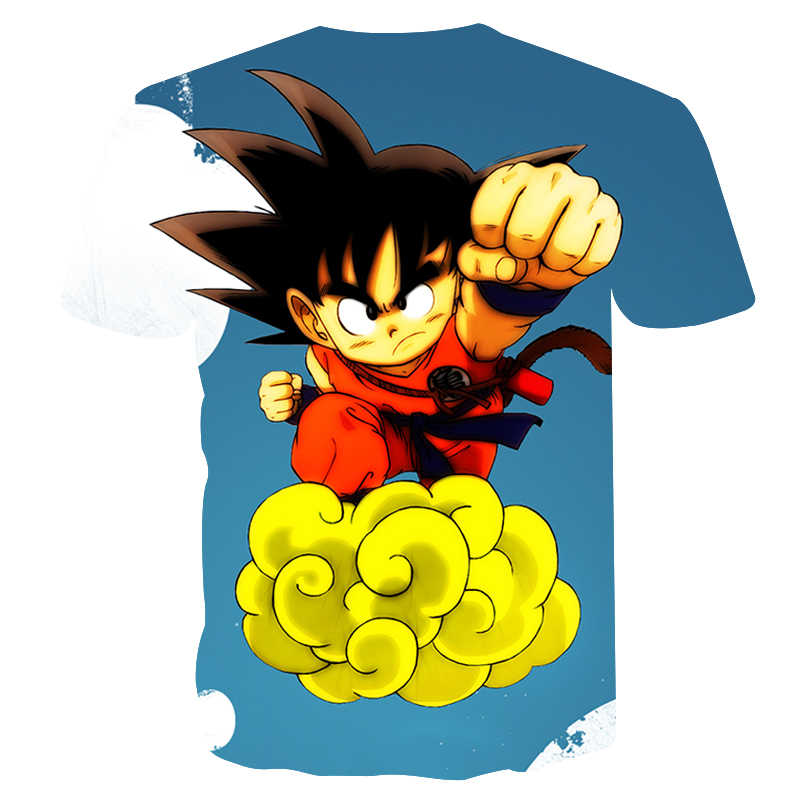 Новое прибытие Dragon Ball DBZ Burma Super Saiyan 3D футболка Летняя модная футболка с короткими рукавами Мужская и wo Мужская Аниме Дракон