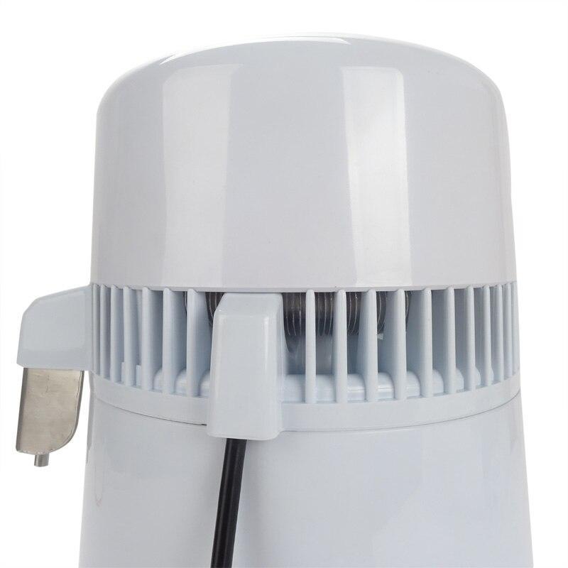 Melhor casa destilador de água pura máquina de filtro de destilação equipamento purificador de água de aço inoxidável destilador 4l - 4