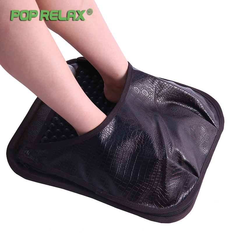 Pop Relax Nuga Best Nm55 Korea Second Heart Tourmaline Germanium Foot Arch Acupuncture Massage Mat Electric Heating Pad Mattress