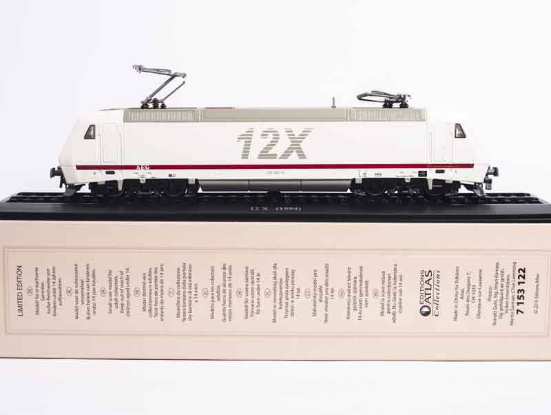1:87 ATLAS EDITIONS 12X (1994) COLLECTIONS LIMITED EDITION TRAIN MODEL