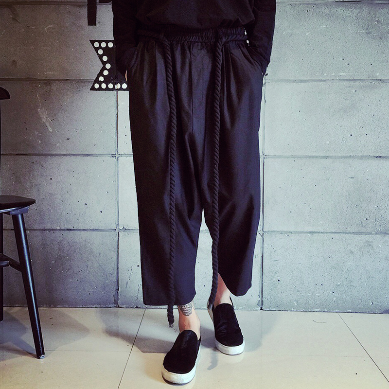 men wide leg pants - Pi Pants