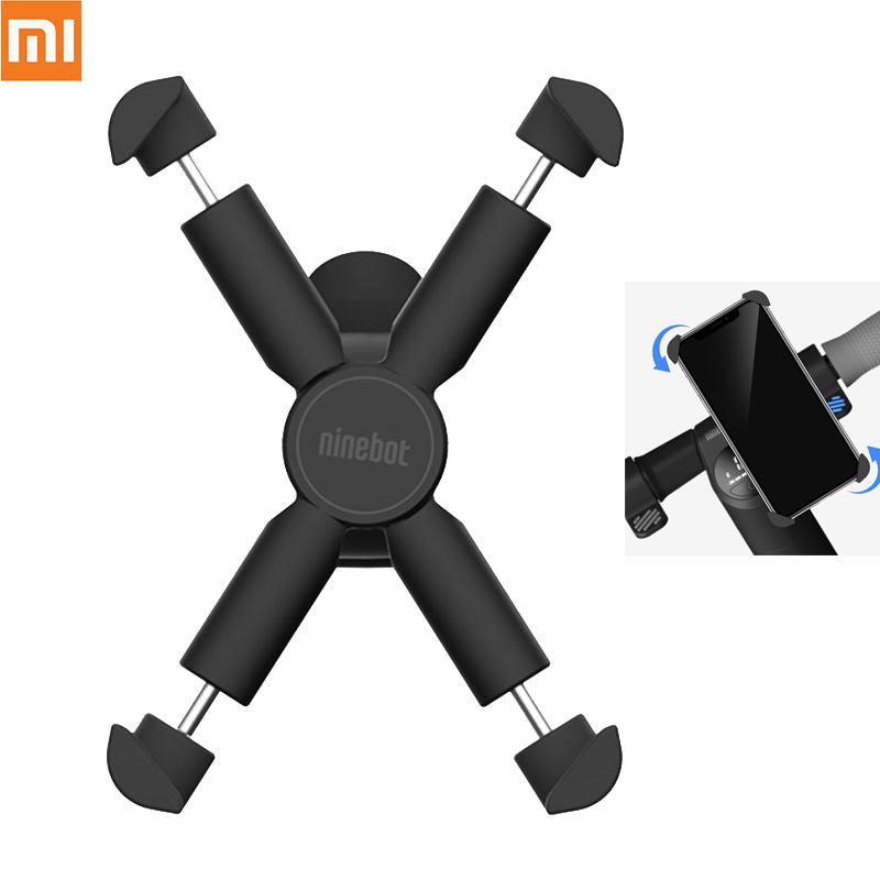 Xiaomi Segway-Ninebot Handlebar Phone GPS Holder for Motorcycle Bike Electric Scooter Mijia Ninebot 360 Rotation Stable