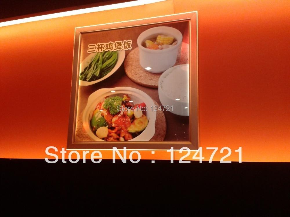 LED Display Ultra-thin Light Box, Menu Restaurant Board Led a3 Sign