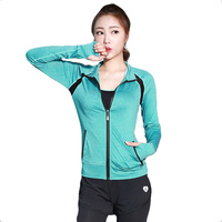 Fanceey 1pc sport shirt women sport top fitness women quick dry long sleeve yoga tops women gym tops ladies fitness clothing