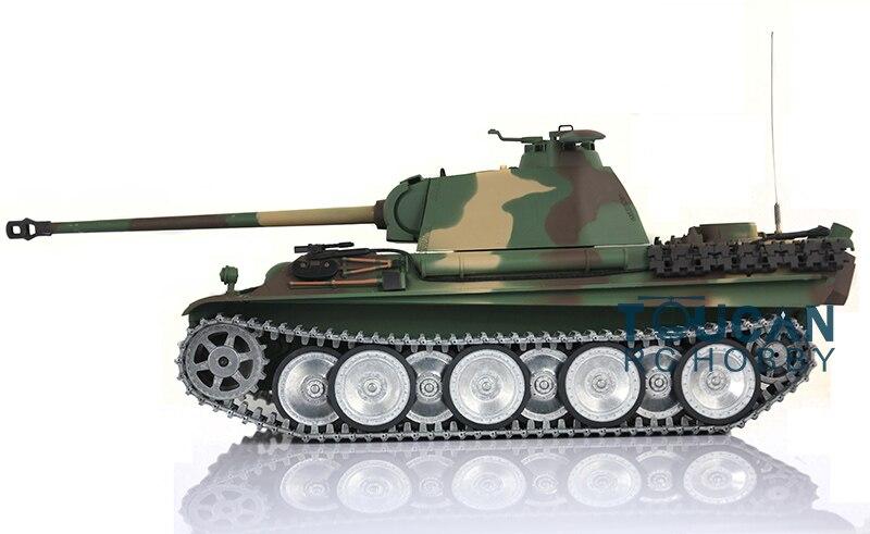 2.4Ghz HengLong 1/16 German Panther G RTR RC Tank Model Metal Road Wheels 3879