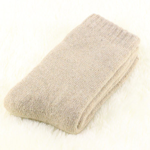 Image 5 - 1 lot=3 pairs=6 pieces Wool socks warm socks plus thick velvet solid color thickening winter wool socks Mens socks 2019 winter