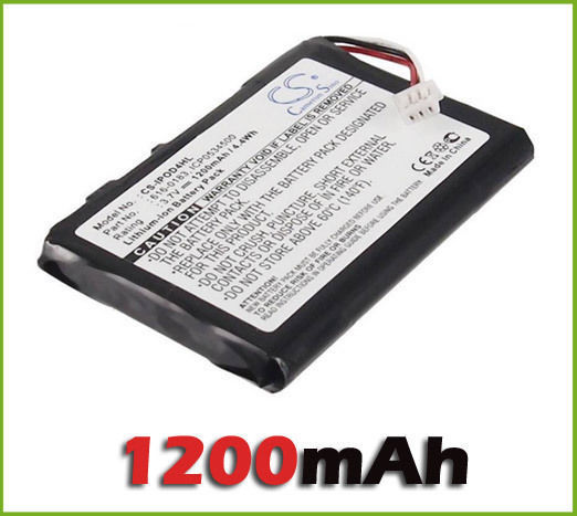 For IPOD / MP3 / PMP Battery Fit For IPOD 4th Generation Battery (1200 MAh) New