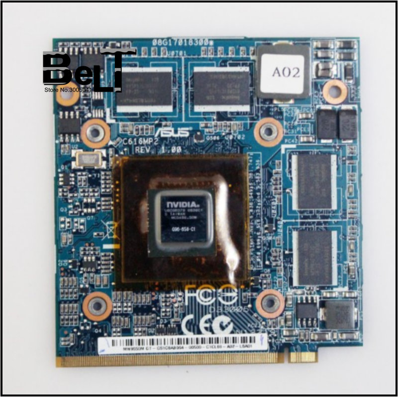 9650M GT 9650MGT G96 650 C1 REV 1 00 DDR2 1GB VGA video card for ASUS