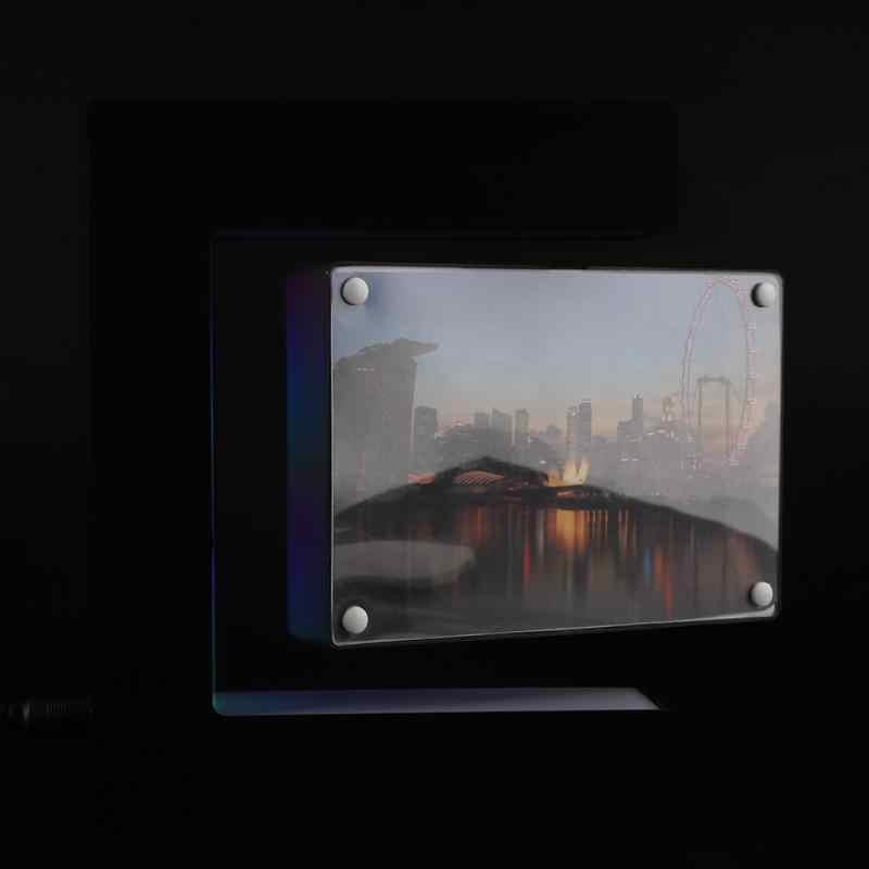 Elektronische Magnetic Levitation Schwimm Foto Rahmen mit Led-leuchten Neuheit Geschenk Hause Dekoration Bilder Rahmen