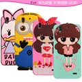 Silica gel cover for Huawei honor for huawei 3C h30-c00 mobile phone protective case for Huawei G630 soft Cartoon Silicone case