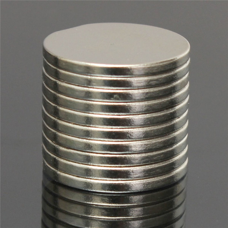 10pcs Disc Silver Rare Earth Neodymium Super Strong Magnets N30  Neodymium Magnet Permanent Magnet 20mm x 2mm 100 pcs 5mm x 1mm disc rare earth neodymium super strong magnet n35 craft mode