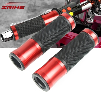 For HONDA CBF 600 1000 SA 1000RR 1100XX CBR 125R 250R 250 MC19 MC22 300R 22mm Motorcycle Handle Bar Grips Gel Aluminum Hand Grip image