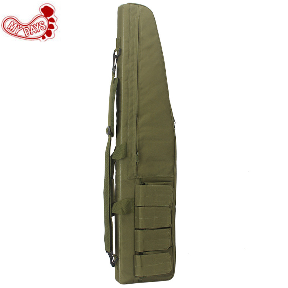 MY DAYS 100cm Gun Rifle Bag Outdoor Tactical Carrying holders Military Gun Case Shoulder Pouch For Airsoft Shooting стоимость