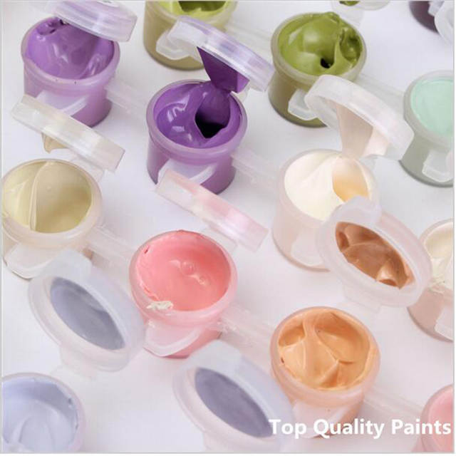 Online Shop Bunga Pohon Ayunan Diy Painting By Numbers Kit Cat Pada