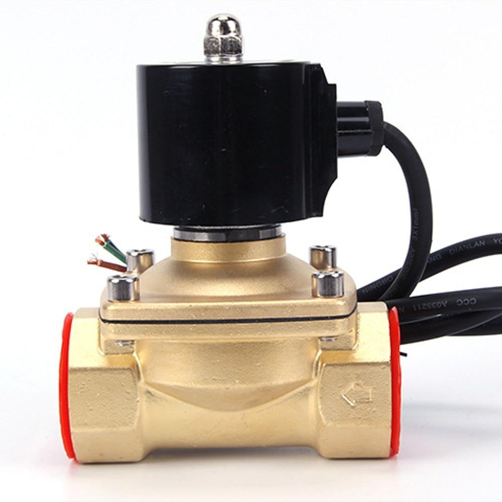 Image 5 - 220VAC 24VDC Waterproof IP rating 68 Fountain underwater normally closed solenoid valve,DN15/DN20/DN25/DN32/DN40/DN50Valve   -