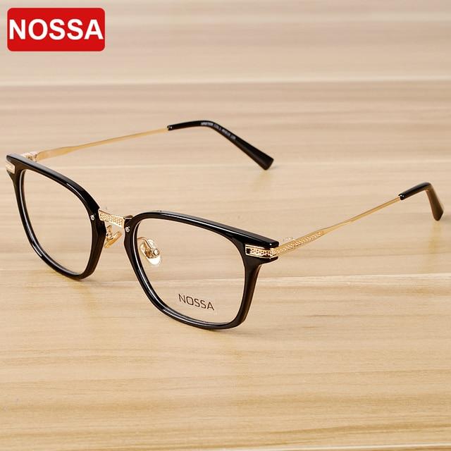 d15721577d5 NOSSA Women And Mens Transparent Glasses Floral Eyeglasses Optical  Prescription Eyewear Frame Myopia Elder Reading Glasses
