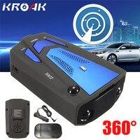 Prędkość Przepływu samochodów Radiolokacja K Ku Ka Laser V7 Kolor niebieski Wyświetlacz Led Rosyjski/Angielski Samochodów Detektor System Testowania Głos Alert