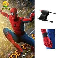 Superhero Spider Man Homecoming Spider Man Peter Benjamin Parker Web Shooter Cosplay Costume For Halloween Accessories