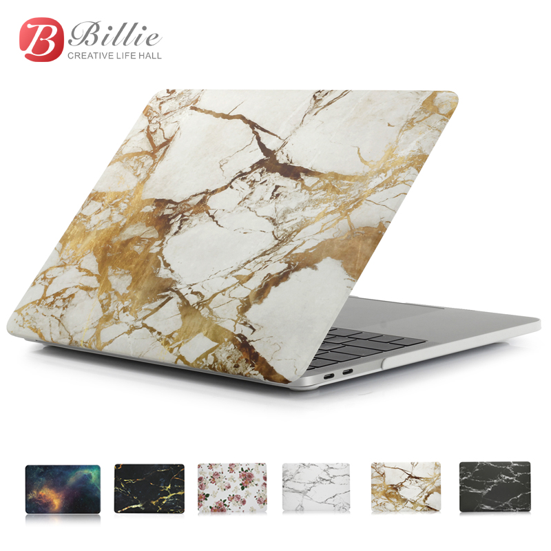 Marble Texture Laptop Cover Case For Apple Macbook Air Pro Retina 12 13 15 inch
