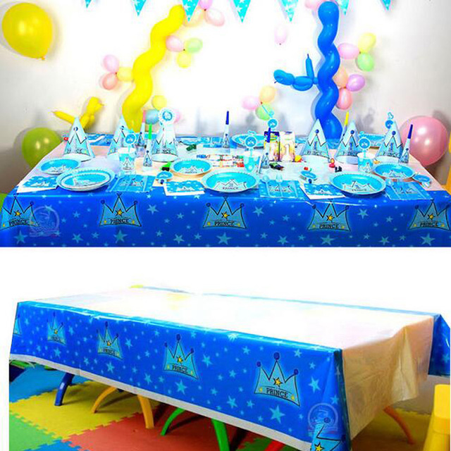 220130cm tablecloth decorate birthday party supplies cartoon design