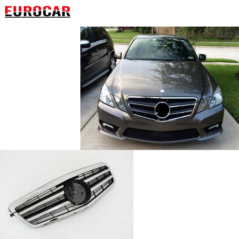 E class W212 grille fit for E-class W212 E63 E250 E300 E350 2014 year to  E63 A style W212 grille