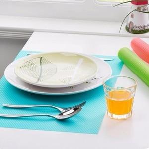 Image 3 - 1 יחידות מקרר מקרר אנטיבקטריאלי טחב Antifouling מחצלות כרית כרית ספיגת לחות כרית טרי פירות ירקות