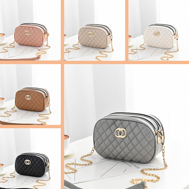 Nevenka Mini Shoulder Bag Women Crossbody Bags for Girls Purses and Handbags Female Diamond Lattice Small