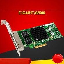 E1G44HT I340-T4 82580 10/100/1000M PCI-Express RJ45 Ethernet Server Adapter Card