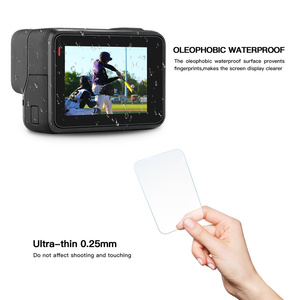 Image 4 - Ochraniacz ekranu dla GoPro 8 Hero7 czarny 6 5 2020 akcesoria folia ochronna szkło hartowane dla GoPro 8 Hero 7 6 Action Camera