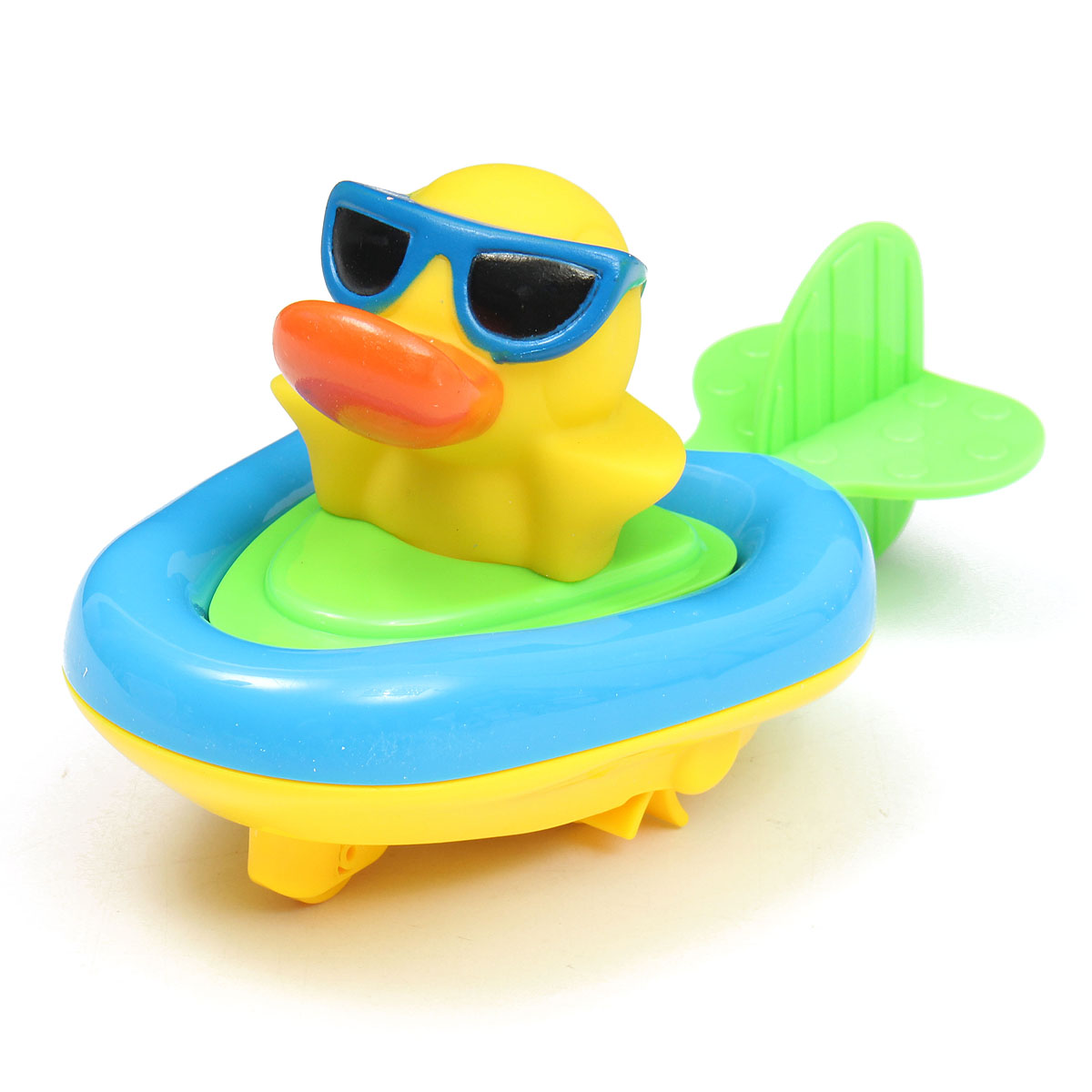 Pull And Go Boat Bath Toy Baby Back Guy Water Clockwork Baby Toy ...