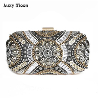 Dinner Clutch 2015 New Factory Sale Hand Beaded Evening Bag Banquet Bags European And American Clutch