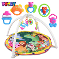 Becky 2016 New Animal Paradise Baby Crawling Mat Baby Toys Baby Gym Play Mat Carpet Child Game Pad Mats for Children