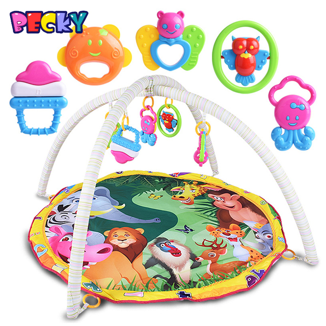 96e45decece Becky 2016 New Animal Paradise Baby Crawling Mat Baby Toys Baby Gym Play Mat  Carpet Child