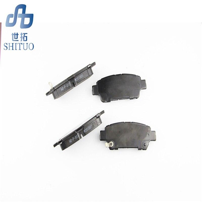 Plaquettes de frein de voiture 4 pièces/ensemble Auto pièces plaquettes de frein avant pour Hyundai Sonata - 3