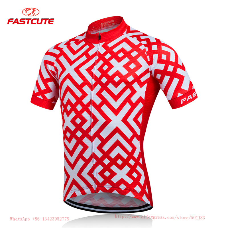 Prix pour Fastcute Cyclisme Maillot Ropa Ciclismo VTT Vélo Vêtements Maillot Cyclisme Porter Vélo De Course Vêtements Vélo Vêtements Vélo Chemise