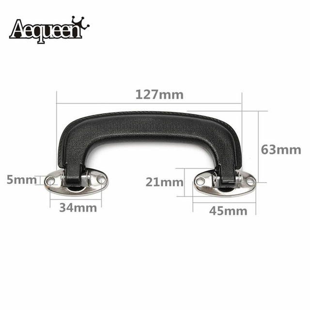 fc67c543e40 AEQUEEN Replacement Luggage Handles Grip Plastic Suitcase Handle Spare Fix Holders  Pull Carry Strap Luggage Repair