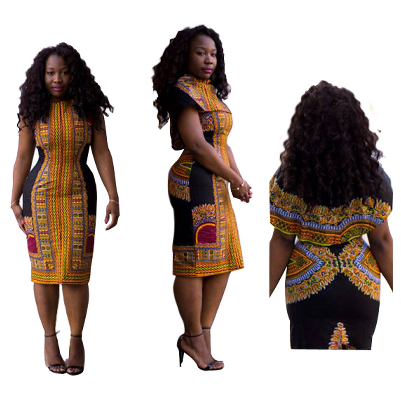 Fashion Retro Dresses African Woman Sexy Classic Vintage ...