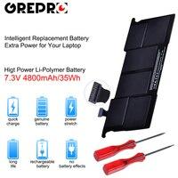 4800mAh A1375 Laptop Battery for MacBook Air 11inch A1375 A1370 (Late 2010 Version Only) MC505LL/A MC506LL/A MC507LL/A 661 5736