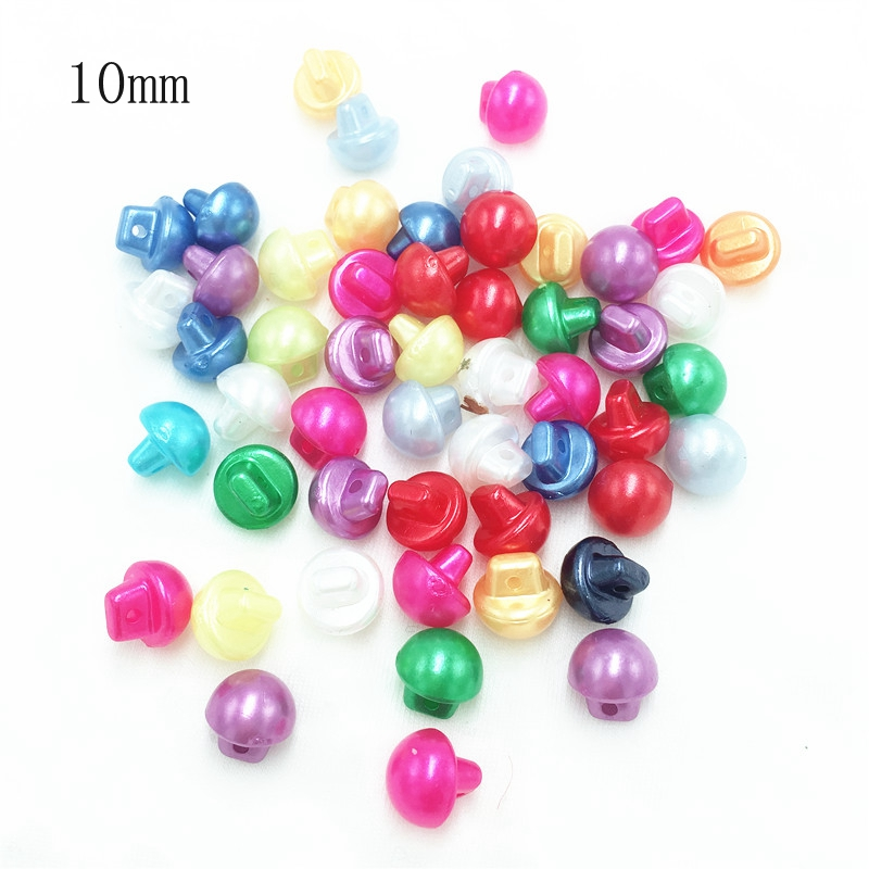 Mixed Sweet Colour Sewing Cardmaking Cute Baby Mini 9mm Buttons Scrapbooking