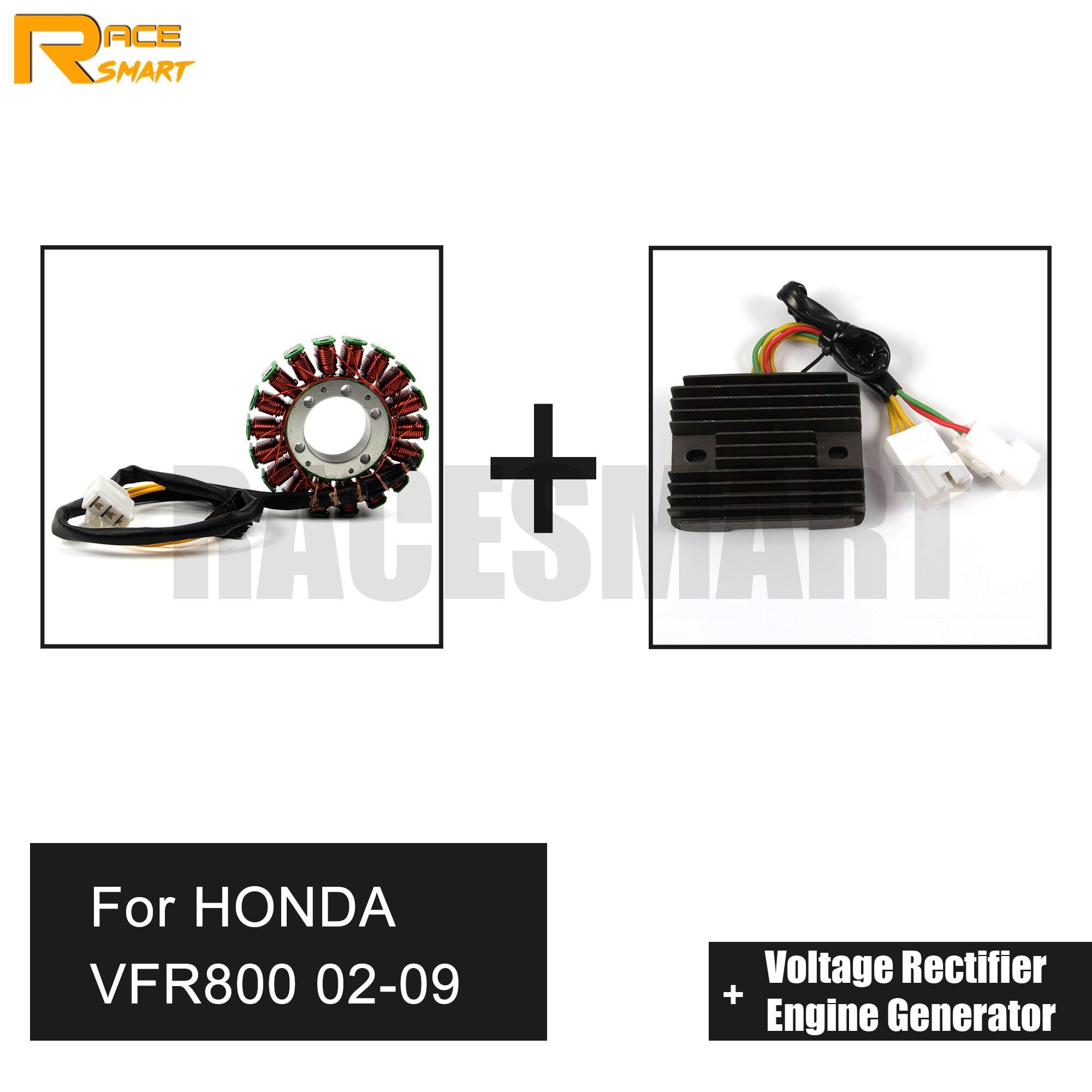 Pour HONDA VFR800 2002-2009 fils moto tension redresseur régulateur redresseur moteur mercure générateur Stator bobine Comp