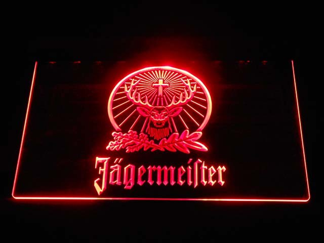 Jägermeister Deer LED Neon Logo 4