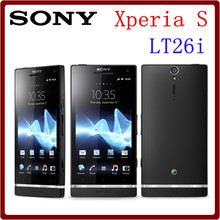 LT26i Original Unlocked Sony Xperia S LT26i 4.3`` 12.1MP Camera 3G 32GB ROM+1GB RAM WIFI GPS Android Smartphone Free Shipping