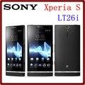 Lt26i original desbloqueado sony xperia s lt26i 4.3 ''mp cámara 3g 32 gb rom + 1 gb ram wifi gps envío libre teléfono inteligente android